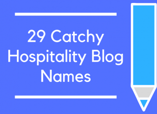 29 Catchy Hospitality Blog Names