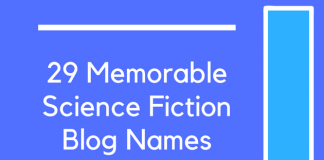 29 Memorable Science Fiction Blog Names