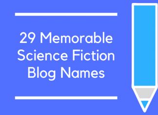 29 Memorable Science Fiction Blog Names