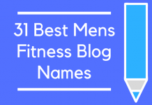 31 Best Mens Fitness Blog Names
