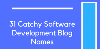 31 Catchy Software Development Blog Names