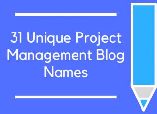 31 Unique Project Management Blog Names