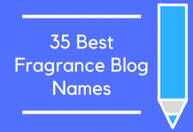35 Best Fragrance Blog Names