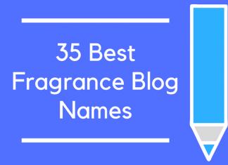 35 Best Fragrance Blog Names