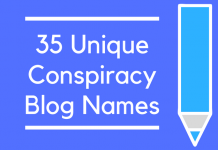 35 Unique Conspiracy Blog Names