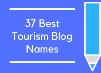 37 Best Tourism Blog Names
