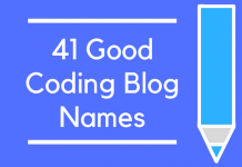 41 Good Coding Blog Names