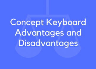 Concept Keyboard Advantages and Disadvantages