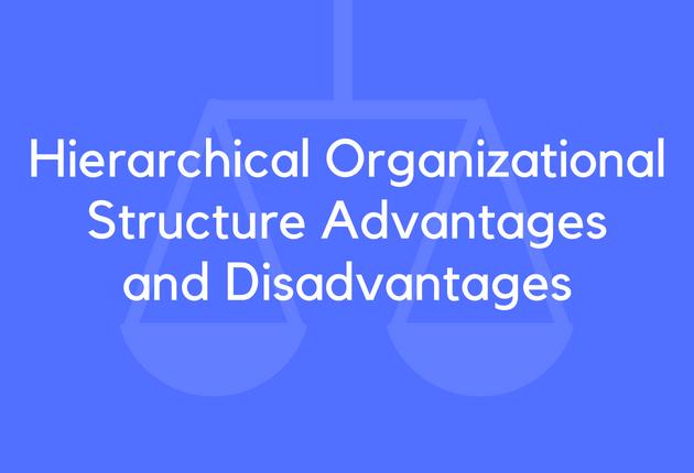 15 hierarchical organizational structure advantages and disadvantages brandongaillecom