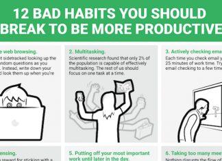 12 Bad Habits that Destroy Productivity