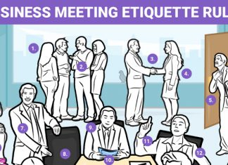 15 Rules for Business Meeting Etiquette