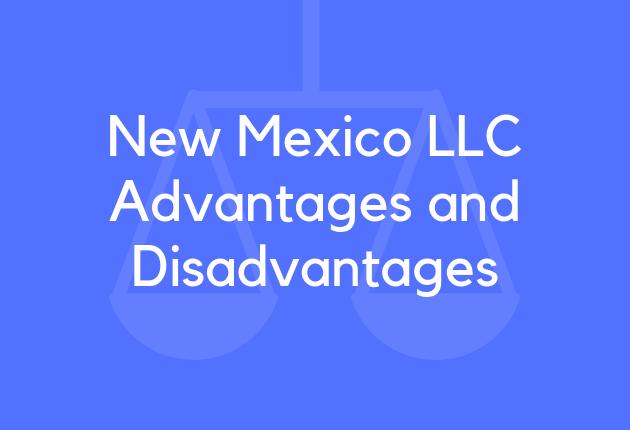 New Mexico LLC Advantages and Disadvantages