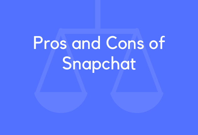 Pros and Cons of Snapchat