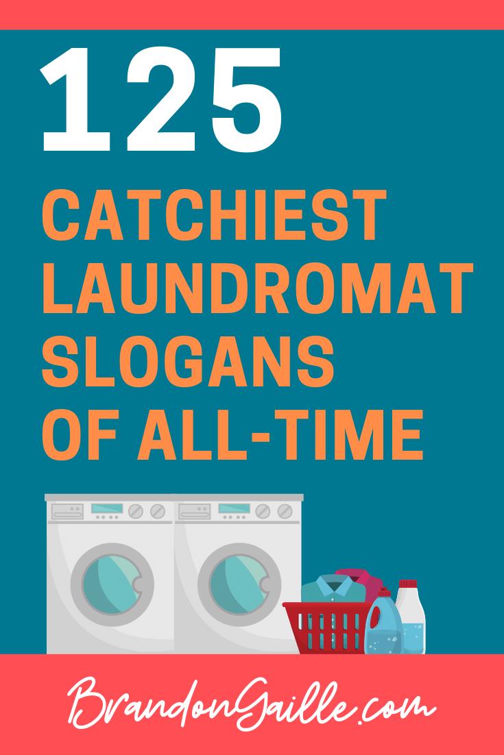 Laundromat Slogans