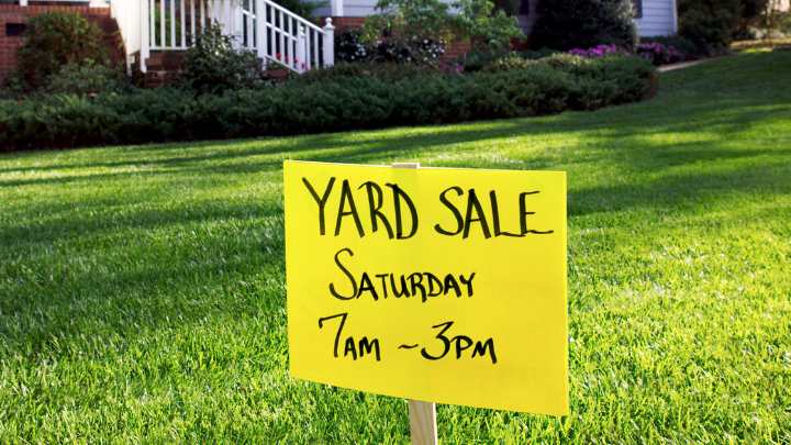51 Real Catchy Garage and Yard Sale Slogans
