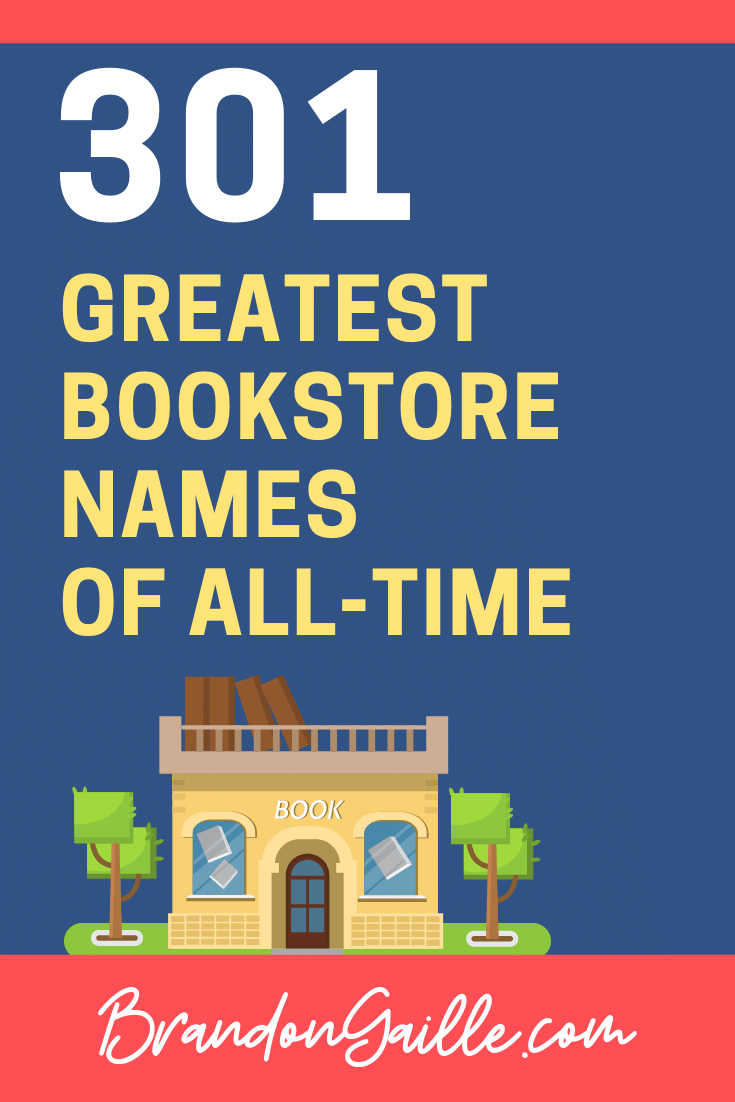 Bookstore Names