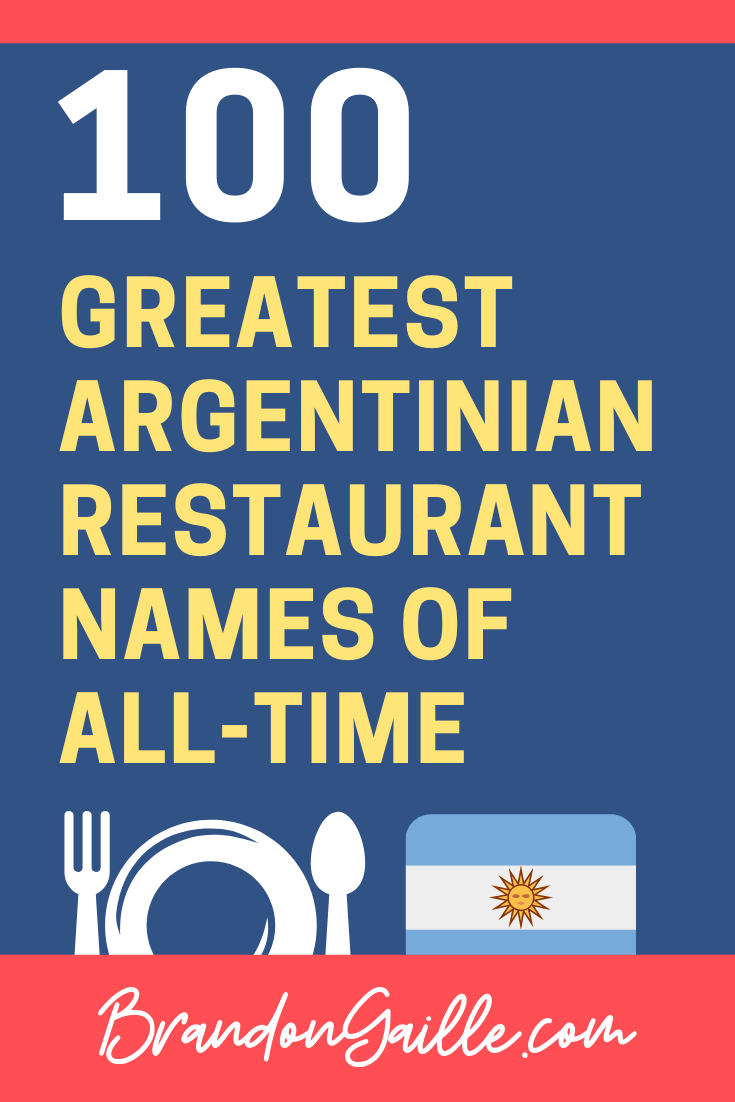 Argentinian-Restaurant-Names-Inspiration