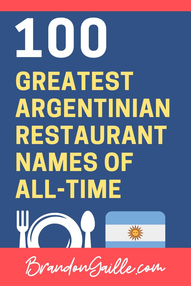 Argentinian-Restaurant-Names-Inspiration