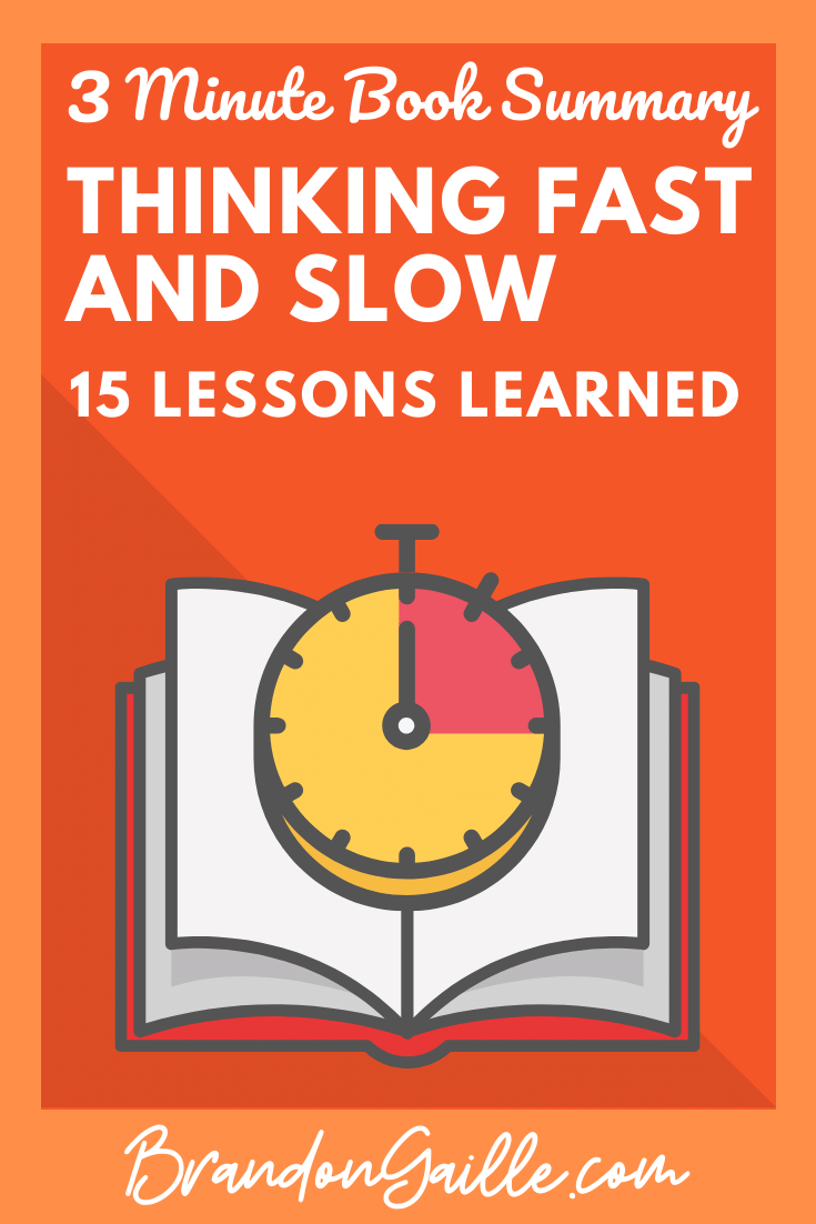 Thinking Fast and Slow Summary