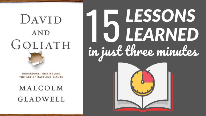 David and Goliath Summary FT