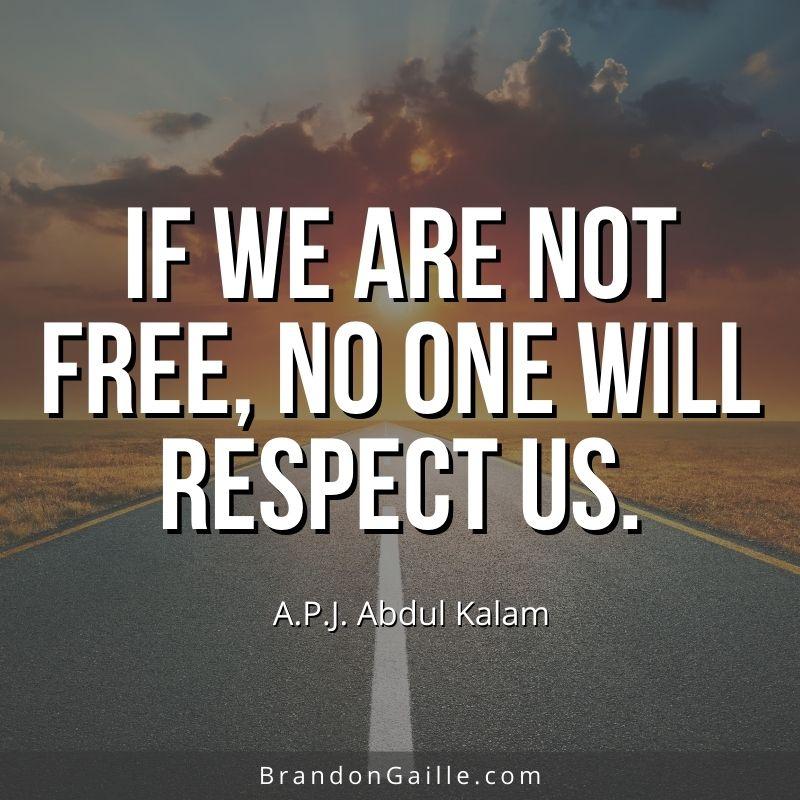 APJ Abdul Kalam Quote