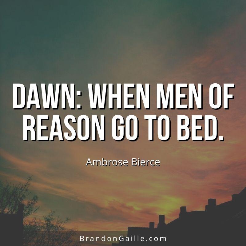 Ambrose Bierce Quote