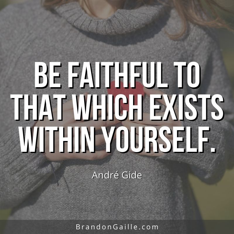 Andre Gide Quote