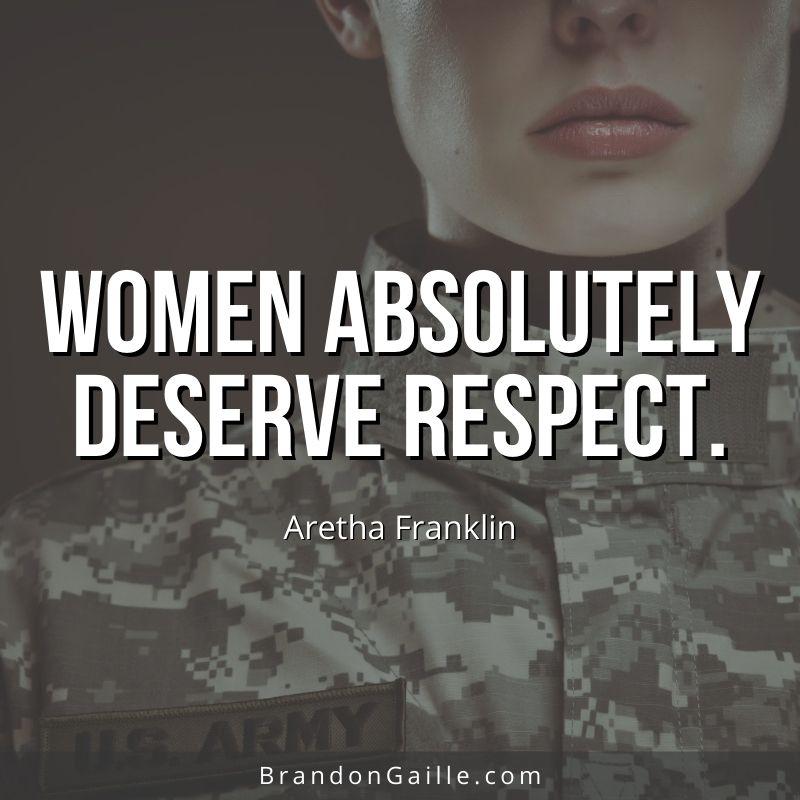 Aretha Franklin Quote