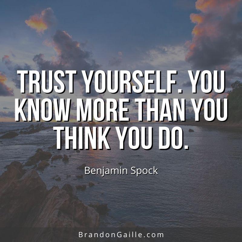 Benjamin Spock Quote