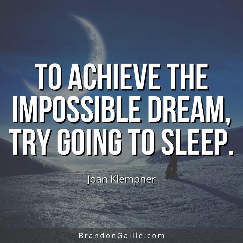Joan Klempner Quote