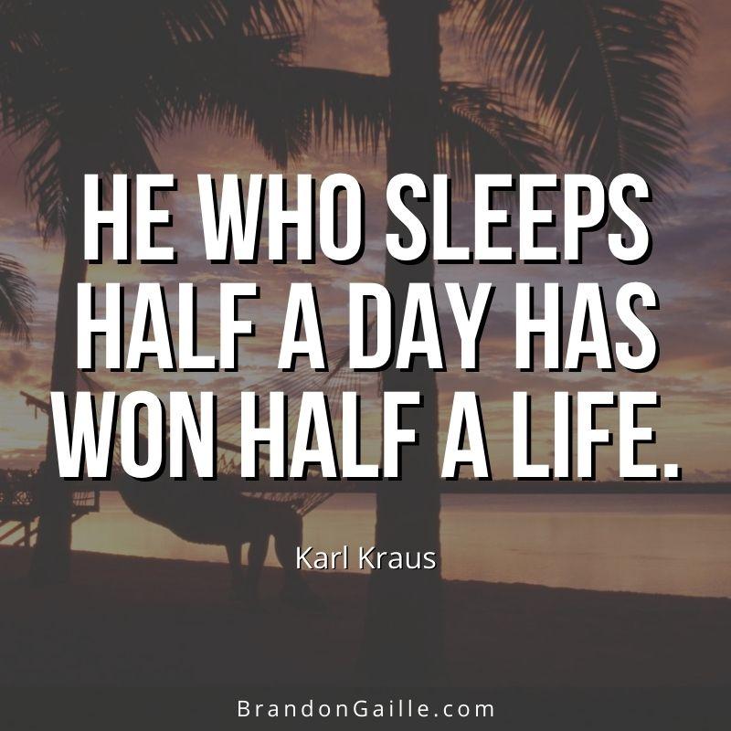 Karl Kraus Quote