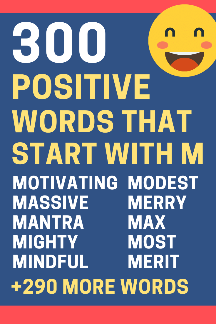 Positive-Words-Starting-with-M